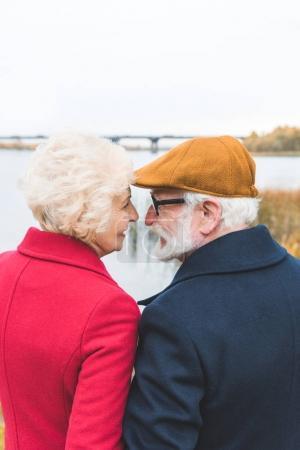 stylish senior couple