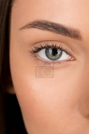 woman with beautiful eye