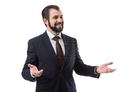 successful businessman in suit