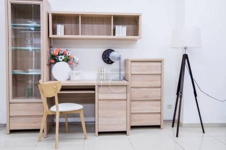 Photo for Modern living room interior with furniture - Royalty Free Image