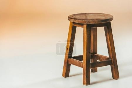 Photo for Close up view of old fashioned wooden chair - Royalty Free Image