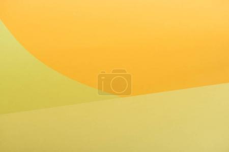 Voller Rahmen mit gelbem und orangefarbenem Hintergrund