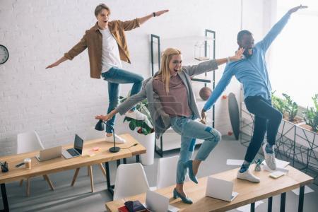 dancing in office