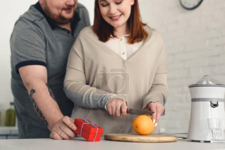 gift to overweight girlfriend