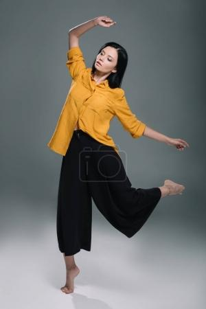 elegant woman dancing