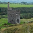 Remains of the engine house of a derelict eighteen...