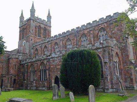 Old church in Devon UK