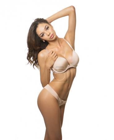 Beautiful woman wearing lingerie