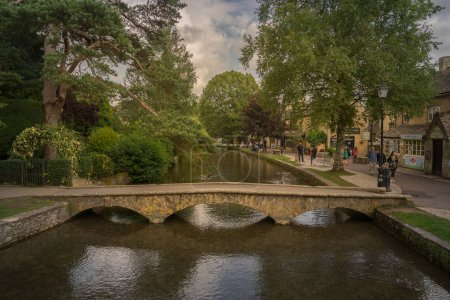 Bourton on the Water in England