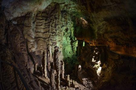 marble cave inside ( Crimea location)