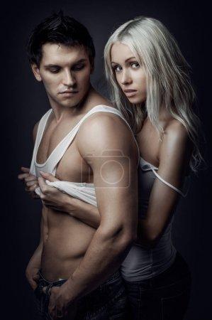sexy beautiful couple