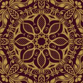 Seamless floral pattern for design vector Illustration
