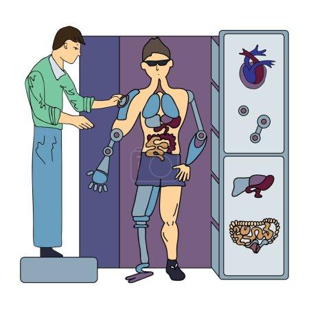 Artificial internal organs. Surgery of future. Sur...