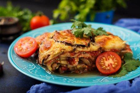 traditional Italian eggplant casserole