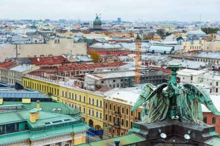Saint Petersburg view from Isaac's Cathedral