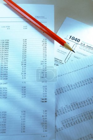 Tax form and operating budget