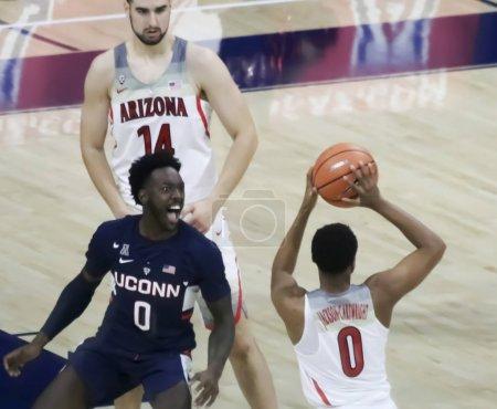 Arizona Guard Parker Jackson-Cartwright Gets Trash Talk from UCo
