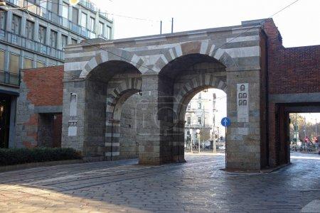 Porta Nuova, Gate of Milan