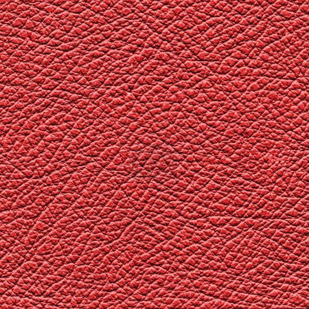Photo pour Texture ou fond en cuir rouge - image libre de droit