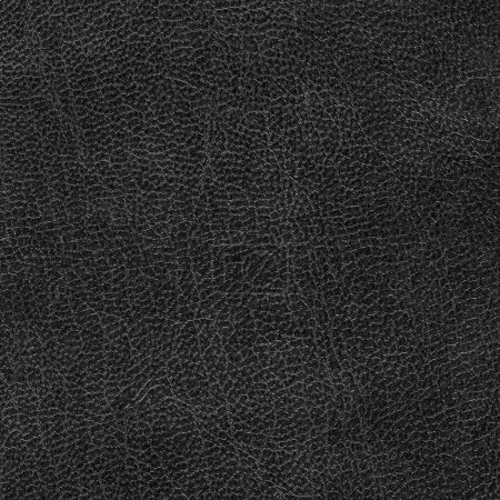 black artificial leather texture as background