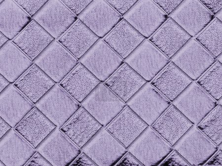 Pale violet artificial leather texture as backgrou