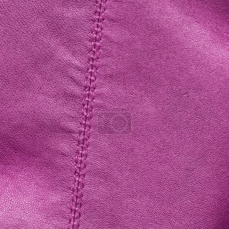 leather with seams background