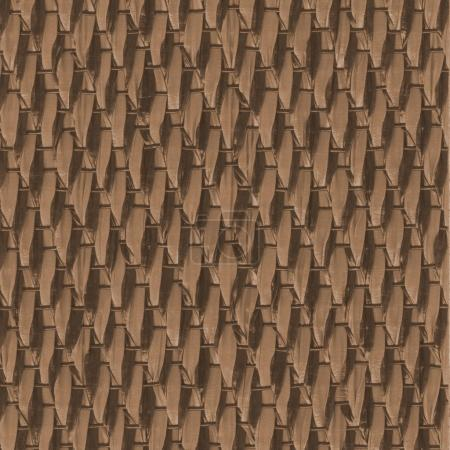 Photo for Brown synthetic material background.Useful for design-works - Royalty Free Image