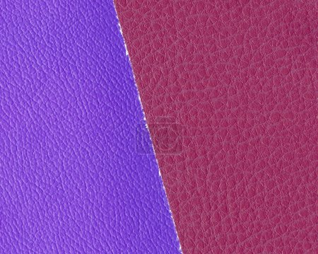 background of two pieces of artificial leather