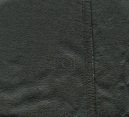 black leather background, seam. Useful for background