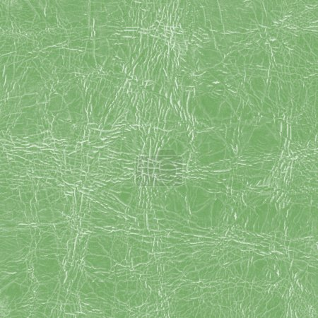 green artificial leather texture closeup