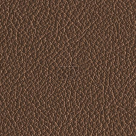Photo for Brown leather texture closeup. Useful for background - Royalty Free Image
