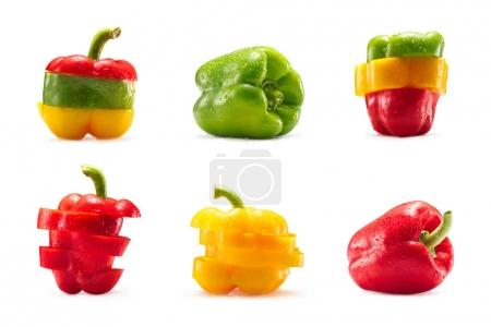 collection of bell peppers