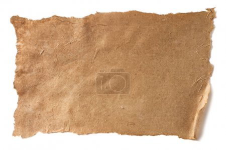 Aged brown paper texture