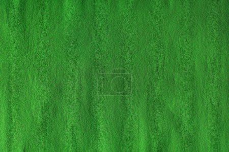Photo for Blank green crumpled paper texture - Royalty Free Image