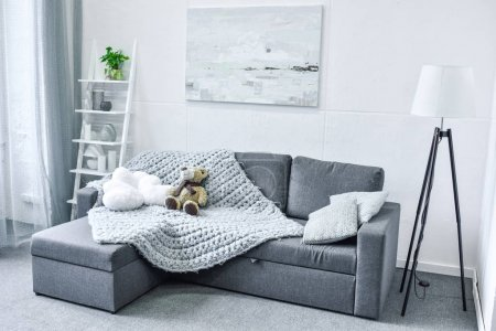 Photo for Cozy living room interior with modern furniture - Royalty Free Image
