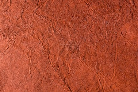 Photo for Blank crumpled red paper texture - Royalty Free Image