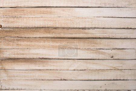 Photo for Light shabby wooden texture with planks - Royalty Free Image
