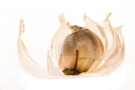 healthy peeled garlic cloves