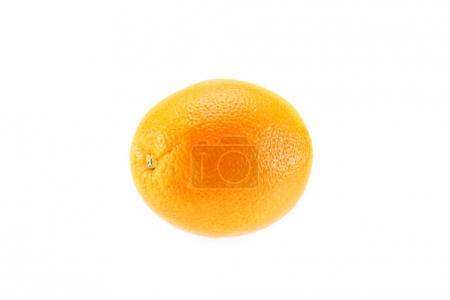 Photo pour Cru frais orange juteuse, isolé sur blanc - image libre de droit