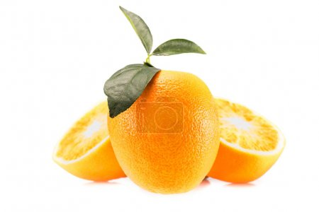 fresh juicy oranges