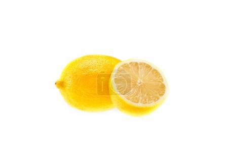 juicy sliced lemons