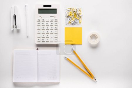 Composition of school supplies