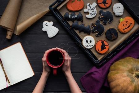 beautiful halloween composition