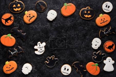 biscuits maison de halloween
