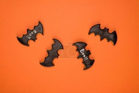 halloween bats cookies