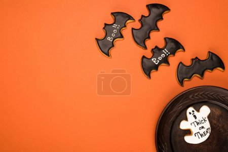 halloween cookies composition