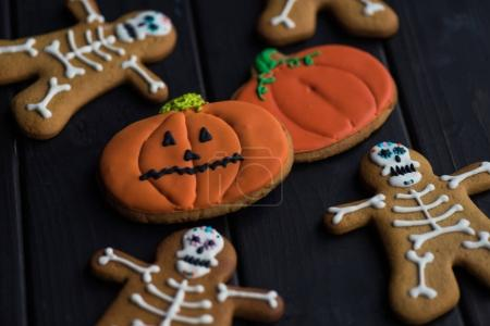 homemade halloween cookies