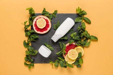 organic citrus lotion
