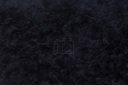 Photo for Black scratched abstract textured background - Royalty Free Image