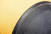Closeup of sports ball